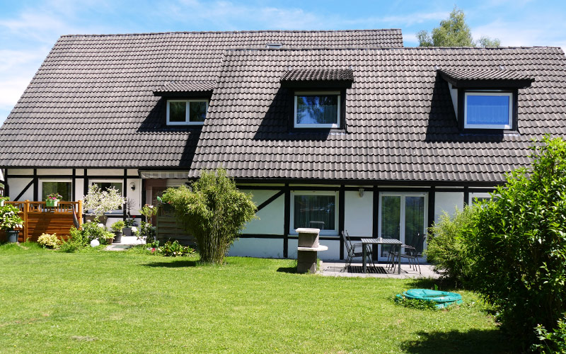 Haag Ferienwohnung & Zimmer Aalen | Gartenblick